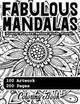 Fabulous Mandala Coloring Book
