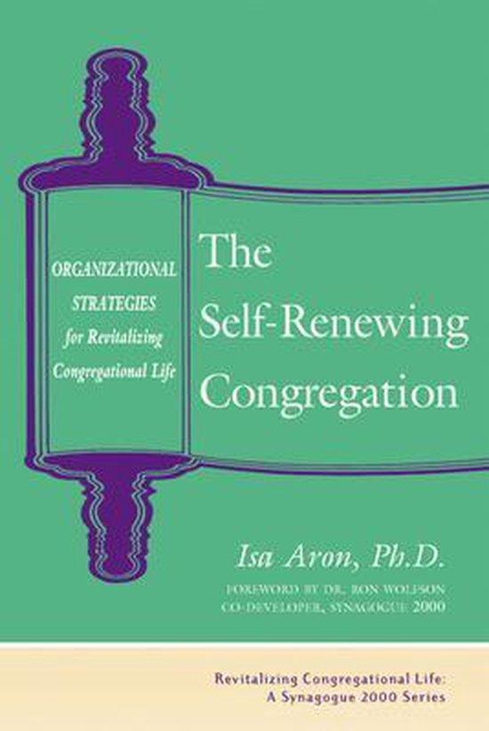 Boek cover Self Renewing Congregation van Isa Aron, Phd (Paperback)