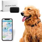 SAMA™ Huisdier GPS Tracker - Zonder abonnement - 1 maand batterijduur - Gebruiksvriendelijke gratis app - Hond - Kat - Zwart - Waterdicht - Track & Trace Volgsysteem