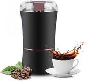 BossL- Koffiemolen electrisch - koffiemaler - Zwart - Perfect gemalen binnen 10 seconden - Coffee grinder - Kruidenmolen - Met extra molenborstel