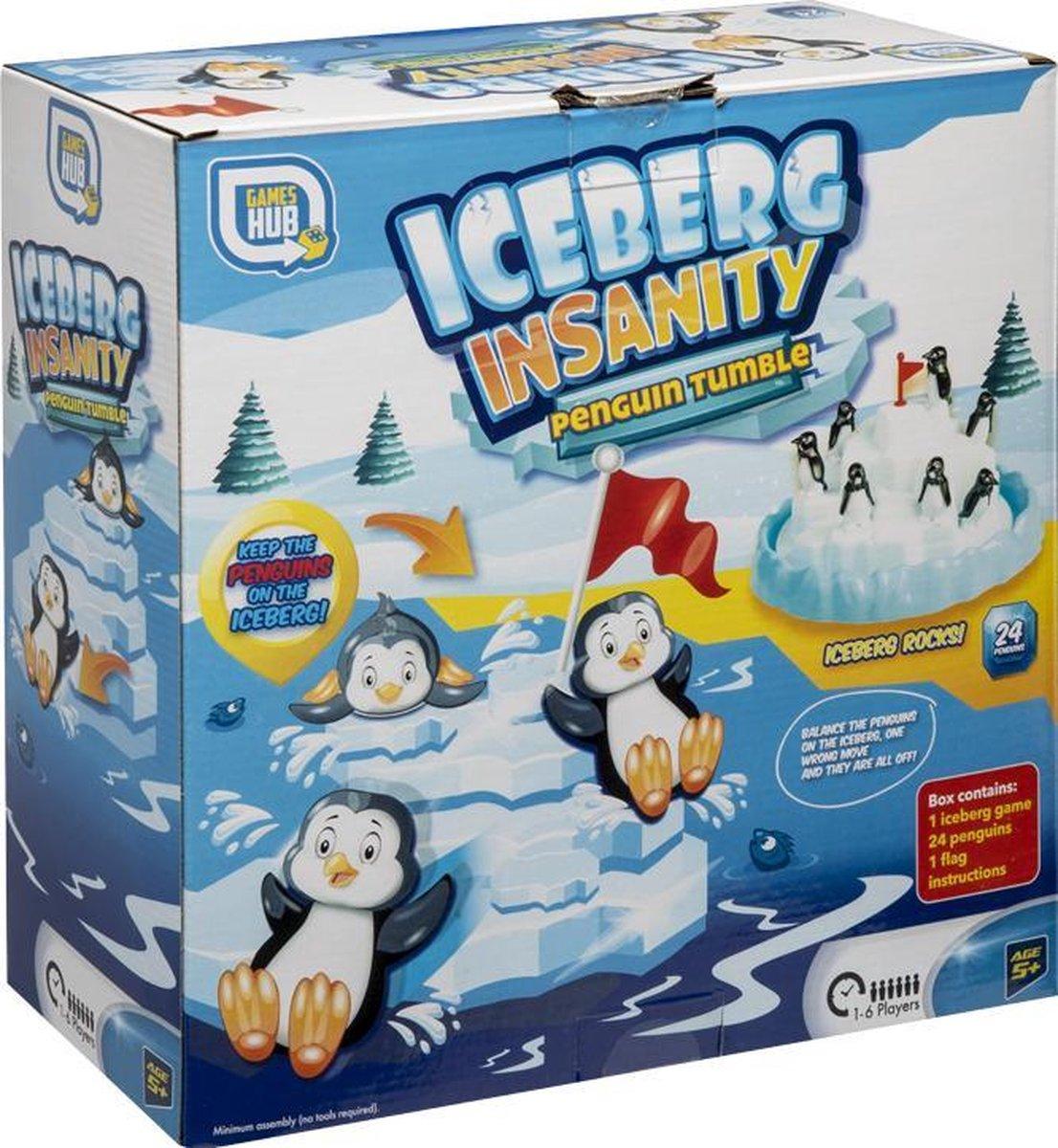 Grafix - bordspel   ijsberg pinguïn spel - evenwichtsspel voor kinderen