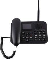 4. ZT9000 2,4 inch TFT-scherm vaste draadloze GSM zakelijke telefoon, quad-band: GSM 850/900/1800 / 1900Mhz (zwart)