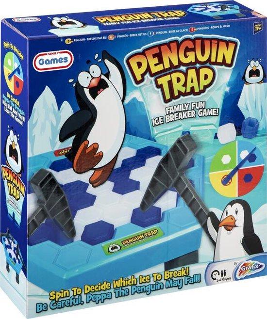 Familiespel Pinguin - wie laat de pinguin het eerst vallen | bordspel voor familie