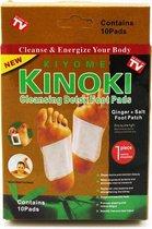 Gold Detox Footpleisters - Kinoki Gold - 20 Stuks - Foot Pads -  Kuur -Ongiftig Lichaam - Extra Energie - Gember + Zout