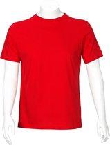 T'RIFFIC® EGO T-shirt Korte mouw Single jersey 100% katoen Rood size M