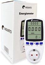 Agunto - Energiemeter -  Elektriciteitsmeter - Energiekostenmeter - Stroommeter - Milieuvriendelijk - Wit