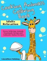 Cooking Animals Coloring Book