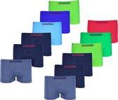 Microfiber Boxershort jongens 915 - Jongens ondergoed - VOORDELIGE 12 PACK 110/122 6-8 jaar