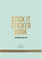 Studio Stationery Stickerboek GREEN