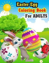 Easter Egg Coloring Book For Adults
