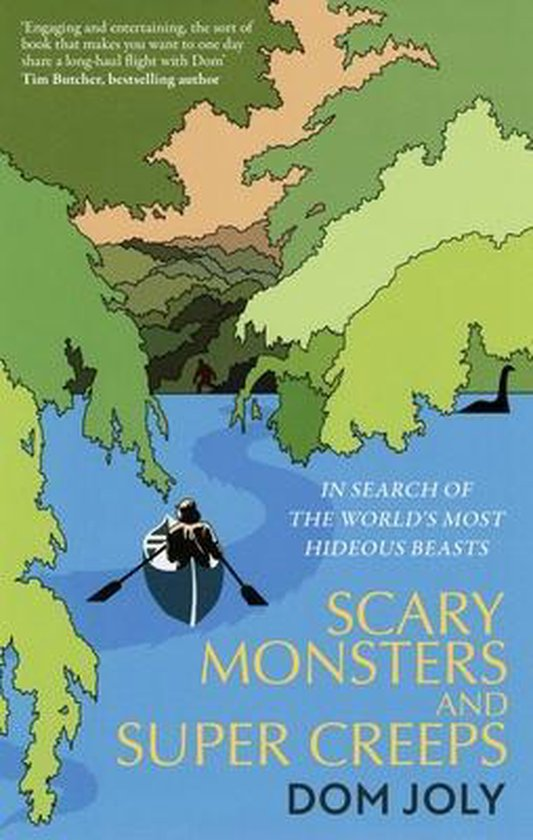Boek cover Scary Monsters and Super Creeps van Dom Joly (Paperback)