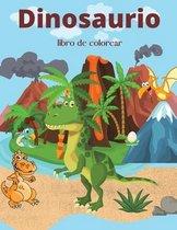 Dinosaurio libro de colorear