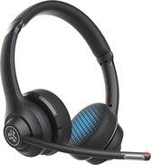 JLAB GO Work bluetooth Headset - koptelefoon bluetooth met microfoon - 45 uur batterij