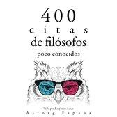 400 citas de filósofos poco conocidos