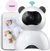 Babyfoon Met Draaibare HD Wifi Camera en App - Voor IOS/Android/Windows - Beveiligd