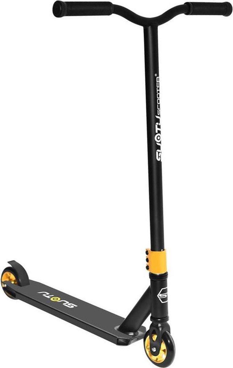SUOTU R10 Stunt step - Step(Niet elektrisch)-Wielen 11cm-Aluminium Core- Geel