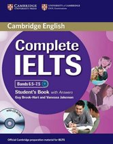Complete IELTS Bands 6.5-7.5 student book + answers + cd-rom