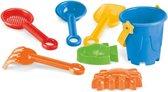 Strandspeelgoed en zandbak speelgoed voor kinderen een klein emmertje geschikt voor in het zand - 0-6 jaar (Advies)