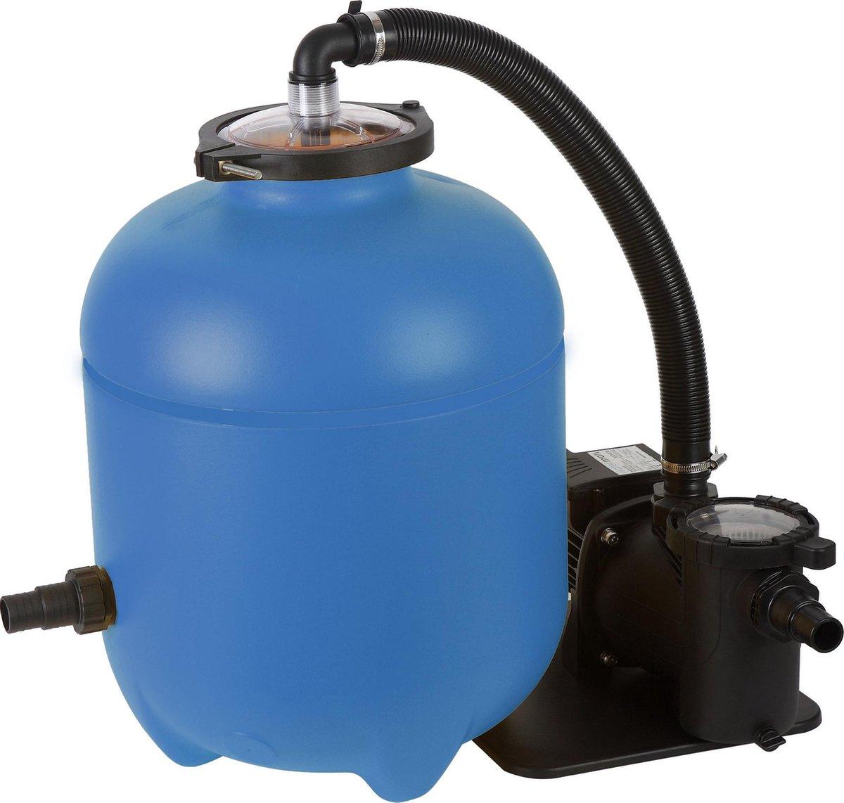Blue bay filterpomp speedclean 10m³/u incl. polysphere - zwembad filterpomp (Nieuw)
