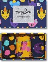 Happy Socks Party Animal Birthday Giftbox - Maat 41-46