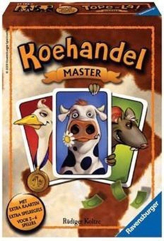 Afbeelding van het spel Ravensburger Koehandel Master - Kaartspel