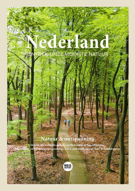 Boek cover Nederland reisgids 2021 - Ontdek onze mooiste natuur + inclusief gratis app van Marlou Jacobs & Godfried van Loo (Paperback)