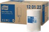 Tork Universal M1 papier 1-laags wit 22cm x 120 meter - Doos 11 rol 120123