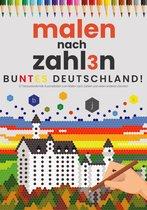 Kleuren op Nummer voor Volwassenen | Kleurrijk Duitsland! | Kleurboek voor volwassenen | Kleuren op Numm3r | Color by Number | Kleuren Volwassenen | Buntes Deutschland!