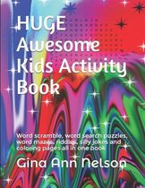 HUGE Awesome Kids Activity Book