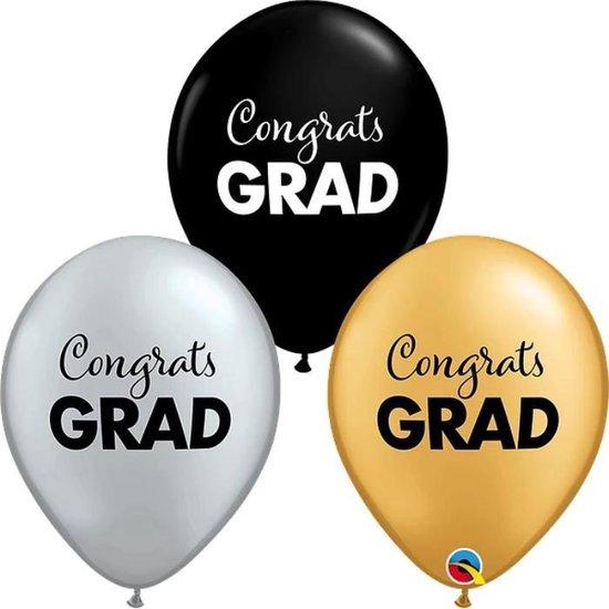 Ballonnen Congratulations Graduate  25 st
