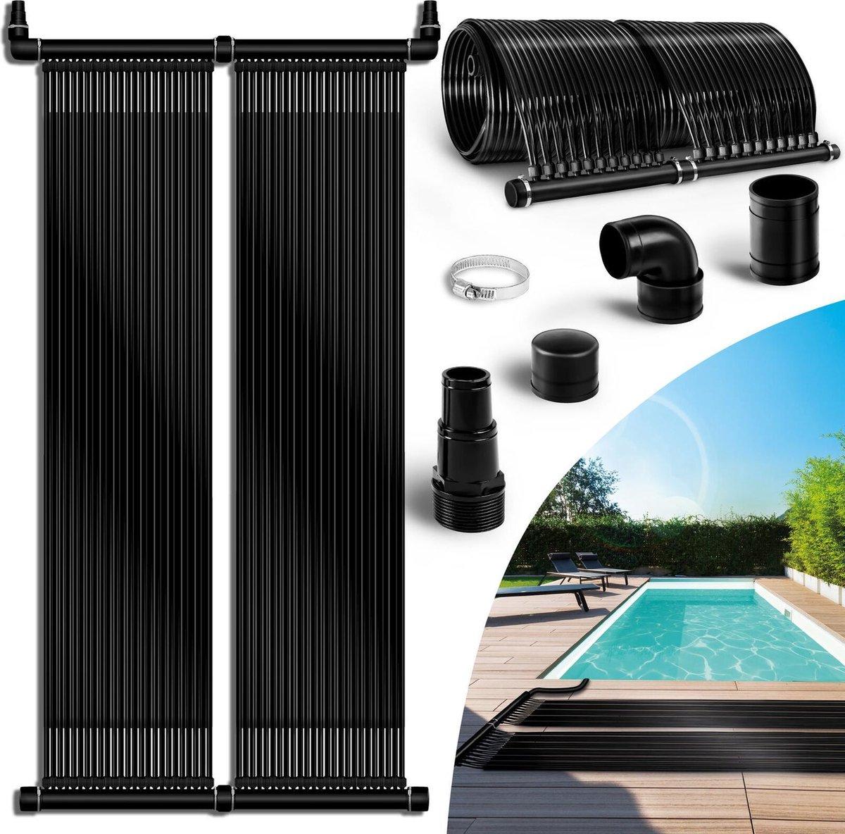 Sens Design zwembadverwarming solar - zonneverwarming voor zwembad - 76 x 480cm