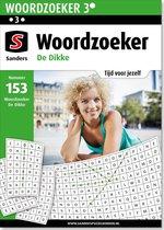 8SK-153 Sanders Puzzelboek - Woordzoeker De Dikke editie 153