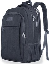 TravelMore Daily Carry Backpack - inch Laptop Rugzak - Dames/Heren - Waterafstotend