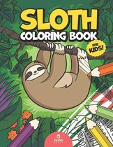 Sloth Coloring Book for Kids