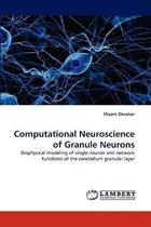 Computational Neuroscience of Granule Neurons
