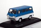 Ford Econoline Blauw Metallic / Wit White Box 1:43 Limited Edition 1000 pcs.