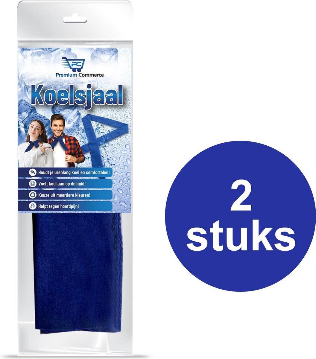 Koelsjaal - Sjaal Dames & Heren Zomer - Verkoelende Sjaal - Koelsjaal Sport - Hoofdpijn Verlichter -