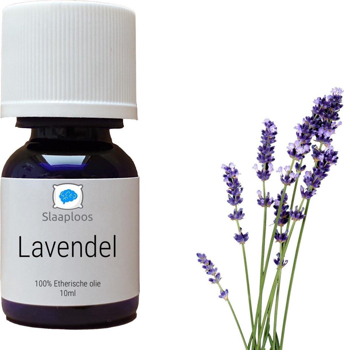Slaaploos Lavendelolie - 100% Pure Etherische Lavendel Olie