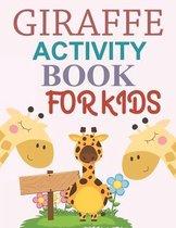 Giraffe Activity Book For Kids