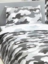 1-persoons dekbedovertek army camouflage