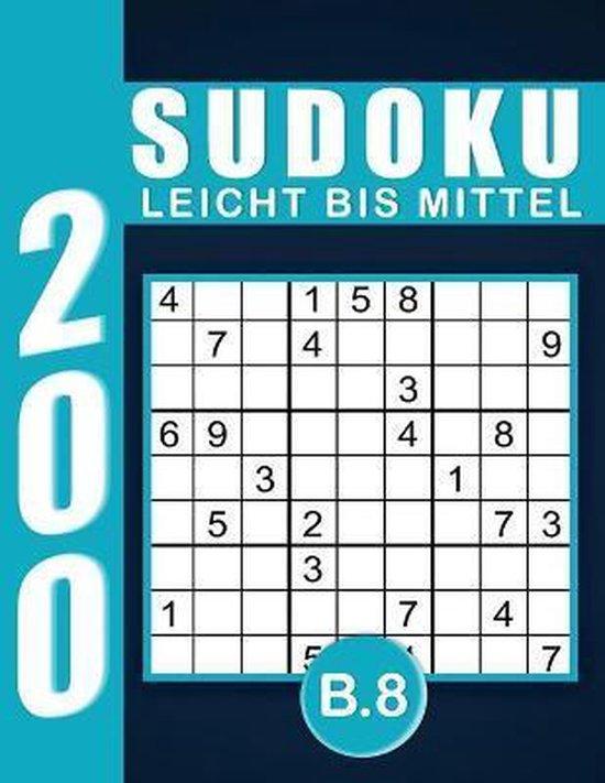 Sudoku Erwachsene Leicht Bis Mittel Band 8