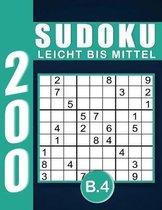 Sudoku Erwachsene Leicht Bis Mittel Band 4
