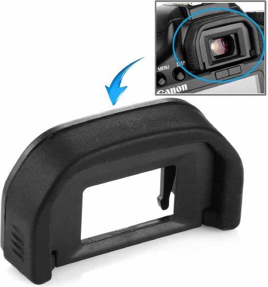 Oogschelp EF voor Canon 350D / 400D / 450D / 500D / 550D / 600D / 1000D / 1100D (zwart)