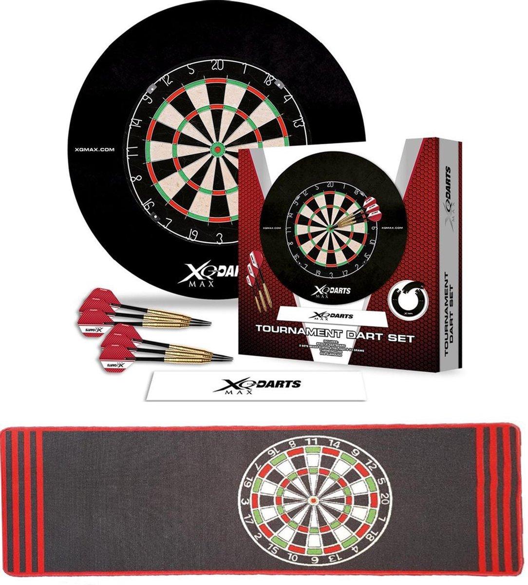 Dragon Darts Tournament set antra - dartbord - dartpijlen - dart flights - dartmat - complete - dartset