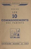 Les 10 commandements des parents