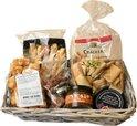 Borrel cadeaupakket   Crackers   Dipsaus   Kaas pakket   Borrel pakket   kerstpakket