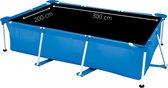 Comfortpool Pro - Solarzeil/Afdekzeil Rechthoekig Zwembad - Geschikt voor zwembaden van 300 x 200 cm - Zwart - Geschikt als Intex afdekzeil of Bestway afdekzeil