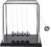 MikaMax Newton's Cradle - Newton Pendel - Balanceerballen - Bureau Kantoor Decoratie