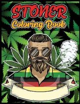 Stoner Coloring Book: The Psychedelic Coloring Book for Relaxation and Stress Relief, Stoner Coloring