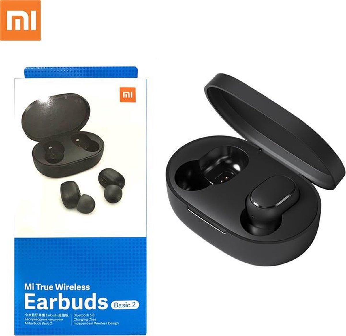 Xiaomi Basic 2 TWS Bluetooth Headphones Xiaomi Mi True Wireless Earbuds Basic 2 – Zwart